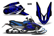 Yamaha APEX XTX Decal Wrap Graphic Kit Part Sled Snowmobile 2006-2011 HAVOC BLUE