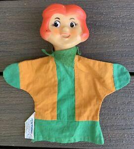 Vtg THE JETSONS Jane Jetson KNICKERBOCKER Hand Puppet HANNA BARBERA