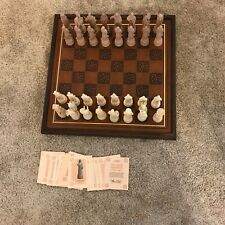New ListingFranklin Mint The Great Crusaders Tesori Porcelain Chess Set
