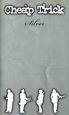 CHEAP TRICK Silver ORIGINAL UK VHS tape 2001 Pop Rock AOR Classic Rock