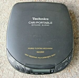 Technics MASH SL-XP141C Portable CD Player Compact Disc Digital Audio Discman