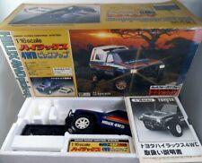 RARE Vintage 80's Nikko Japan 1/16 Toyota Hilux 4WD NOS Taiyo Shinsei Yonezawa