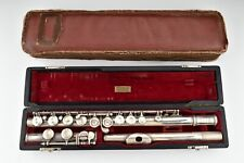 Selmer American Solid Sterling Silver Flute with Original Case