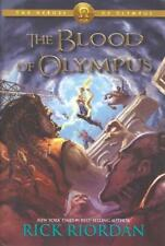 The Heroes of Olympus Book Five: The Blood of Olympus Signed First Edition