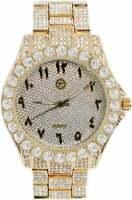 Iced Out CZ Watch | Urban Jewelry | Cubic Zirconia Watch | Hip Hop Jewelry