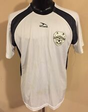 Score Adult Larrge Soccer Jersey SA United White With Black Elements #12