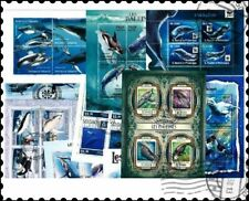 Whales Miniature Sheets : 10 Different Collection