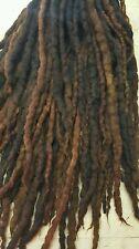 Wool Dreadlocks  Wool Dreads set of 60 Double Ended 44 inch total