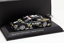 DTM Audi RS 5 #27 dtm 2015 Adrien Tambay 1:43 Spark