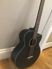 More details for electro acoustic bass guitar - black