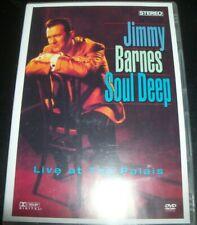 Jimmy Barnes Soul Deep Live at The Palais DVD 9325583024207