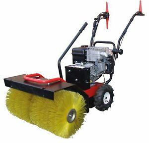 Kehrmaschine Motorbesen Schneefräse 3in1 Räumgerät Benzinmotor 6,5PS 2J Gewährl