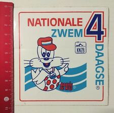 Aufkleber/Sticker: Nationale Zwem 4 Daagse - KNZB - Robbie De Rob (090616157)