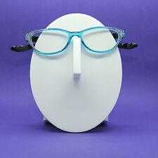 Reading Glasses Rounded Cat Eye Crazy Kitty Bling Sparkle +1.75 Lens
