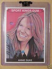 2008 Sportkings Serie B Base ANNIE DUKE # 107 Leaf Razor Poker