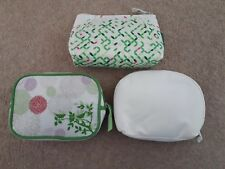 "3 X ""SIMPLE""  ""DOVE""  Toiletry Make Up Bags Pouches New"