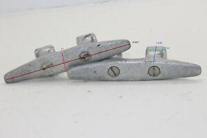 "Mako - Catalina Yachts 5-3/4"" Aluminum Open Base Cleat Pair"