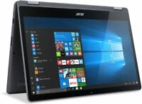 "Acer Aspire R 2-in-1 Laptop 15.6"" FHD Touch i7-7500U 2.7GHz 12GB Ram 1TB HDD W10"