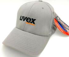UVEX Sports Vintage Ball Cap Navy Gray NEW S-M FlexFit