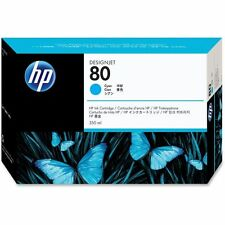 HP Tintenpatr Nr 80 Cyan 350ml