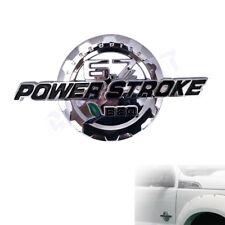 6.7L Power Stroke Turbo Diesel F250 F350 F450 F550 Super Duty Door Emblem Chrome