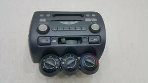 2004 Honda Jazz Mk2  CD Player Radio Stereo Tested See Images