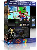 GAMES EMULATOR- PC WINDOWS - 60 SYSTEMS - RETROPIE - RECALBOX