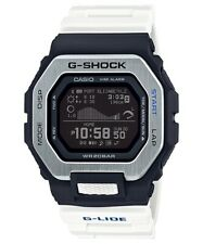 Casio G-Shock G-Glide Bluetooth Black and White Resin Watch GBX-100-7