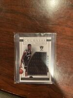 2016-17 National Treasures Caris LeVert Rookie Patch Brooklyn Nets RC /60