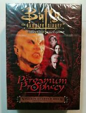 BUFFY THE VAMPIRE SLAYER BTVS CCG PERGAMUM PROPHECY SEALED VILLAIN STARTER DECK
