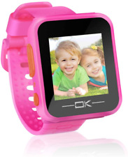 Toys for 3-8 Year Old Girls Pussan Smart Watches for Kids Toddler Watch with USB