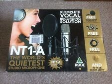 Rode NT1-A Condenser Studio Microphone Bundle - (Hardly Used)