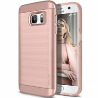 OBLIQ [Slim Meta]Slim Fit Premium Dual Layer for Samsung Galaxy S7  - Rose Gold