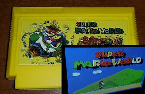 Super Mario World: Pegasus Famicom Famiclone Dendy NES cartridge