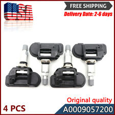 Set (4) A0009057200 TPMS TIRE PRESSURE SENSOR For Mercedes Benz Smart  Fortwo