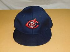 VINTAGE OLD BASEBALL HAT CAP CLEVELAND INDIANS  NEW ERA PRO MODEL WOOL NEW NOS