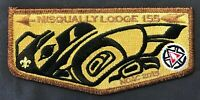 NISQUALLY OA LODGE 155 BSA PACIFIC HARBORS COUNCIL GMY CMY NOAC 2015 FLAP