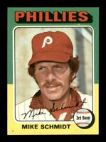 1975 Topps Set Break # 70 Mike Schmidt NM-MINT ST BACK *OBGcards*