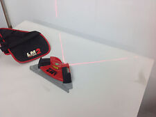 CST/berger LaserMark LM2 Laser Level Square w/Case Layout Tool. USED