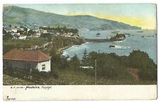 Madeira, Funchal PPC, Undivided Back, Southampton 2 PMK 1906 to Bedford Camp