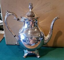 Amazing F.B ROGERS silver plated Coffee/ Tea set ( 4 pieces)   tray