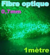 927-07# Fibre optique 0,7mm 1m modélisme , voiture , train