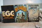 lot vtg old Sci-Fi  GOLDEN WITCHBREED FREEZING DOWN THE EGG SHAPED THING fantasy