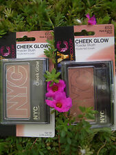 2 NYC CHEEK GLOW POWDER NATURAL LOOKING BLUSH, #653 PARK AVENUE PLUM