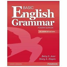 Basic English Grammar with Audio CD, with Answer Key by Stacy Hagen and Betty...