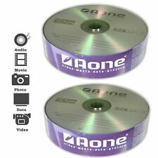 50 PACK AONE BLANK MEDIA CD-R DISCS 52x 700MB DATA 80 MINS