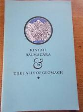 KINTAIL BALMACARA The Falls of Glomach Vtg Booklet Western Highlands of Scotland
