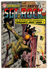 Showcase #45 4.0 Off-White Pages Silver Age Sgt Rock