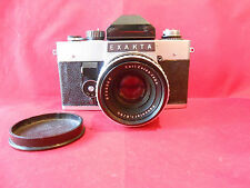 Exakta Kamera mit Carl-Zeiss Pancolar 1.8/50mm