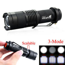 Ultrafire 8000Lumen T6 LED Zoomable 14500 Flashlight Torch Lamp Super Bright